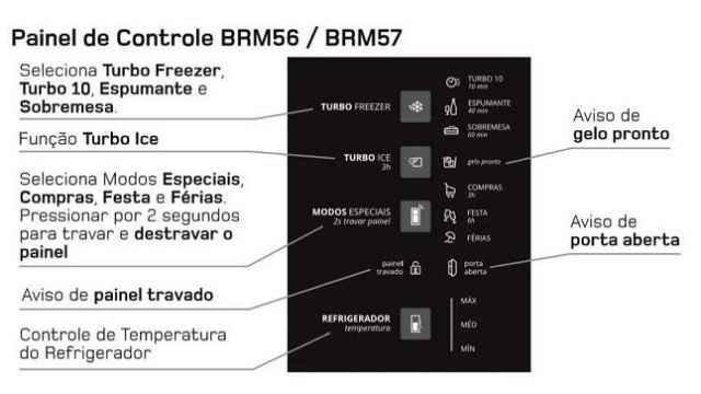 Geladeira Brastemp BRM57AK f
