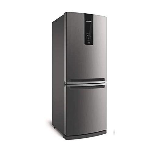 Geladeira Brastemp Frost Free 443 litros - BRE57 - Inox - 110v