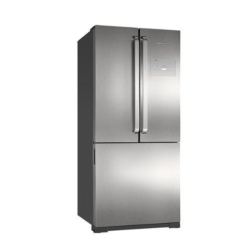Geladeira Brastemp Side Inverse 540 Litros Ice Maker - BRO80- Evox - 110v