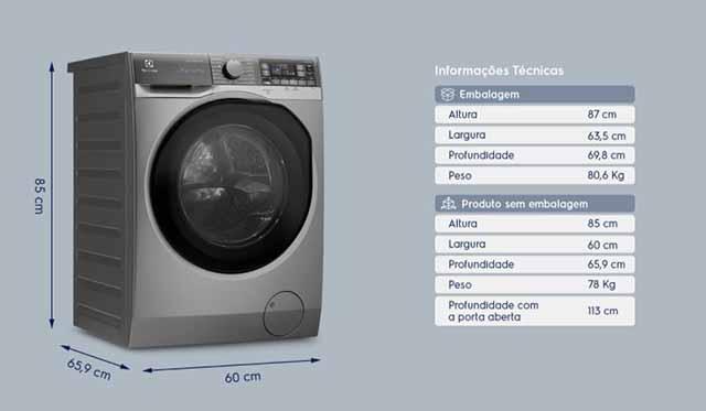 Electrolux LSW11 - Design e Ficha técnica