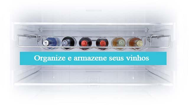 Samsung RL4353RBASL-Organize e armazene seus vinhos