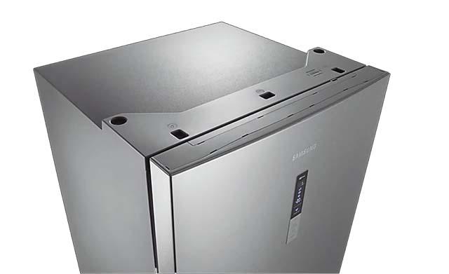 Samsung RL4353RBASL-Painel sofisticado