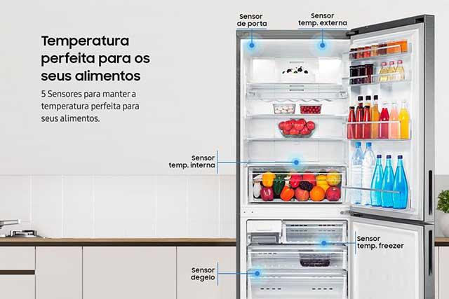 Samsung RL4353RBASL Temperatura perfeital