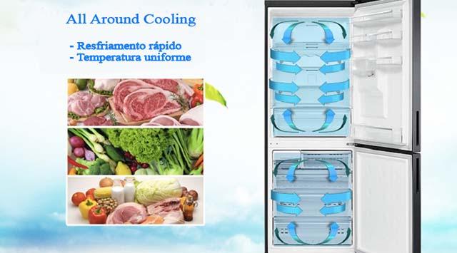 Samsung-RL4353RBASL-all around Cooling