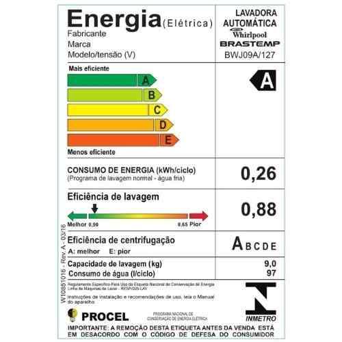 Selo-Procel-A-de-eficiência-energética-da-lavadora-Brastemp-BWJ09