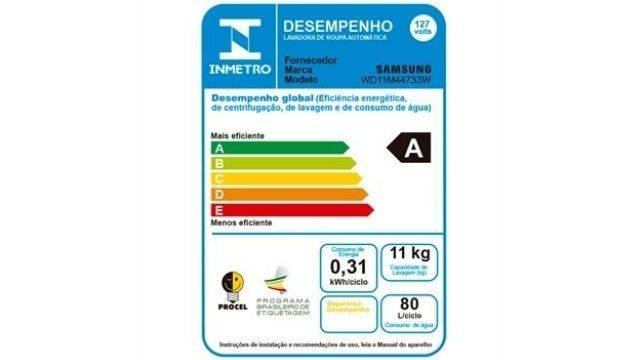 Selo-Procel-A-de-eficiência-energética-da-modelo-WD11M44733W
