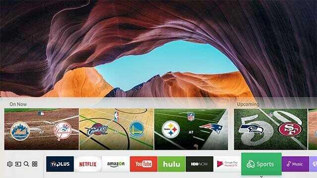 Smart TV Samsung RU7100-operacional Tizen