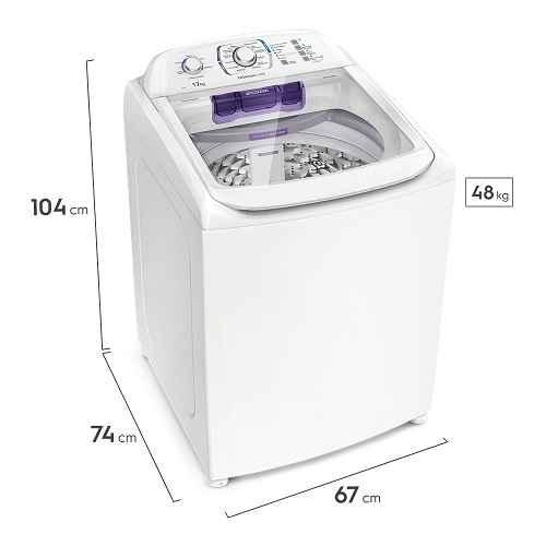 lavadora electrolux lpr17