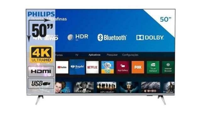 Smart-TV-Philips-50-polegadas-50PUG6654