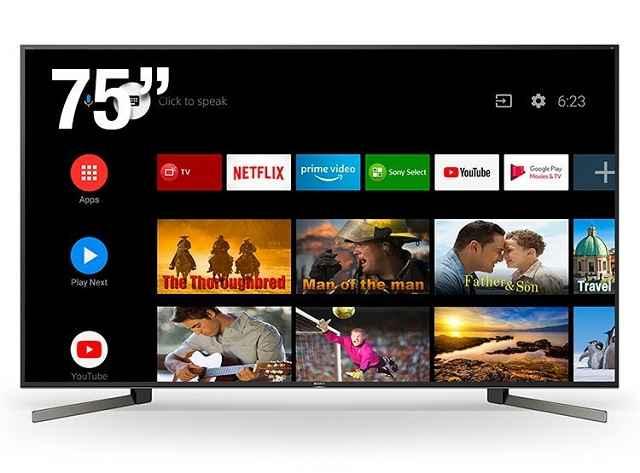 Smart TV Sony X955G